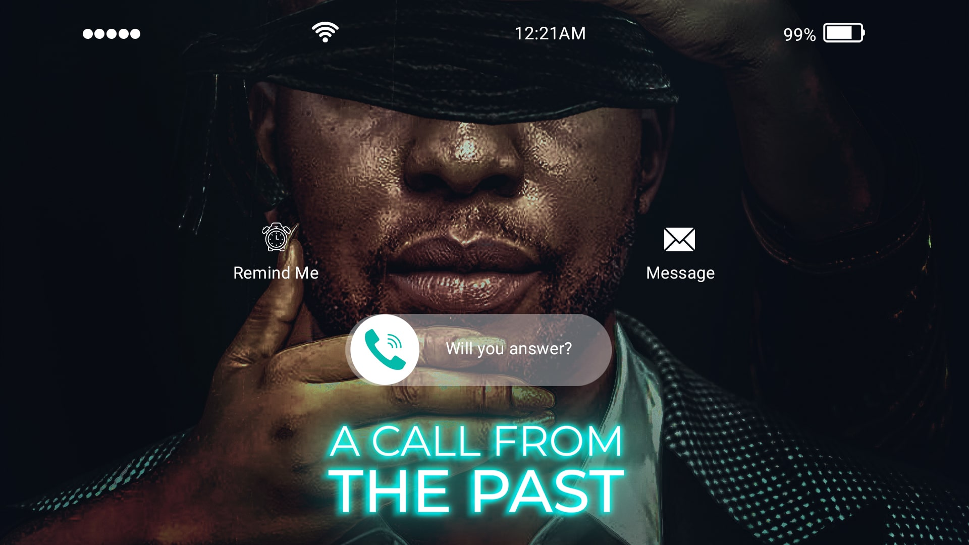 A CALL FROM THE PAST